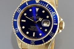 Tarvitaan: Rolex Submariner yellow gold for up to 20,000 Euros