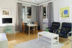Annetaan vuokralle: Bright Furnished Apartment for Sublet in Töölö! All incl.!