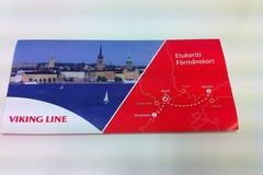 Myydään: Viking line ticket from Helsinki to Stockholm (reserved)