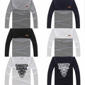 Wholesale Lots: (40) STYLISH DESIGN ASSORTED MEN LONG SLEEVE T-SHIRT CLOTHES