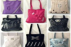 Wholesale Lots: (50) ASSORTED STYLES WOMEN FULL SIZE HANDBAGS PURSES TOTES