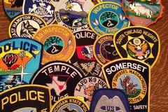 Wholesale Lots: Police Patches-100
