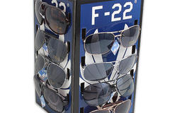 Wholesale Lots: 48 Aviator Sunglasses & Display Case