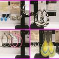 Wholesale Lots: (977) Stylish Assorted Dangling Hoop Earrings - Jewelry