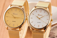 Wholesale Lots: 35 New Luxury Gold Stainless Steel Watches - Classic Style