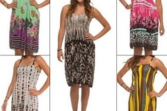 Wholesale Lots: Womens Sun Dresses - case of 144