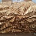 Wholesale Lots: Baroque Antiqued Gold Leaf Lidded Box MSRP $312.00 Slight Da