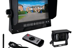 "Wholesale Lots: Pyle 7"" Commercial-Grade Wireless Weatherproof Backup Camera"
