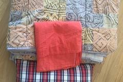 Myydään: Pillow, Blanket and Bed Sheet